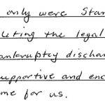Bankruptcy Testimonial