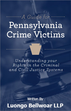 Educating Crime Victims: West Chester Law Firm Distributes Handbooks to Victims of Crime in Pennsylvania | Luongo Bellwoar LLP