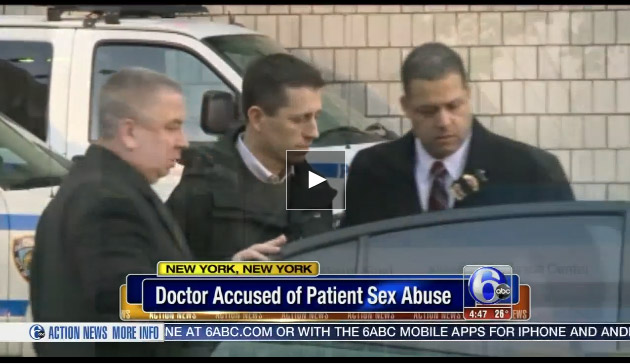Doctor accused of sexual assault